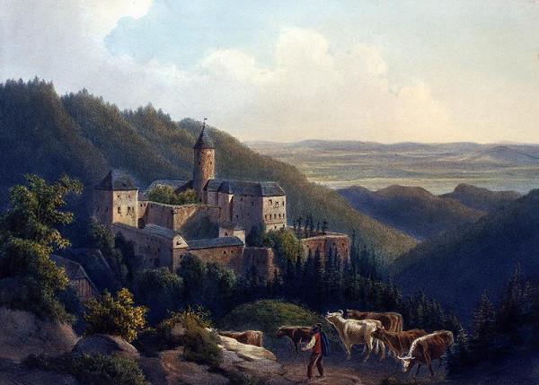 August Haun – Hrad  Sovinec