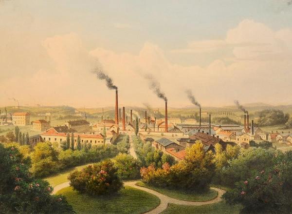 August Haun - Vítkovické  železárny