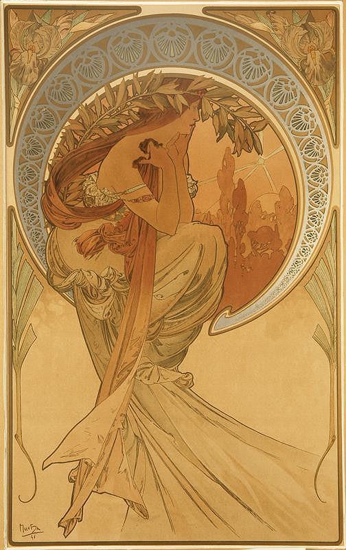 Alfons Mucha – Poezie z cyklu Umění