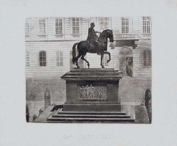 Josef Axmann – Jezdecký  pomník