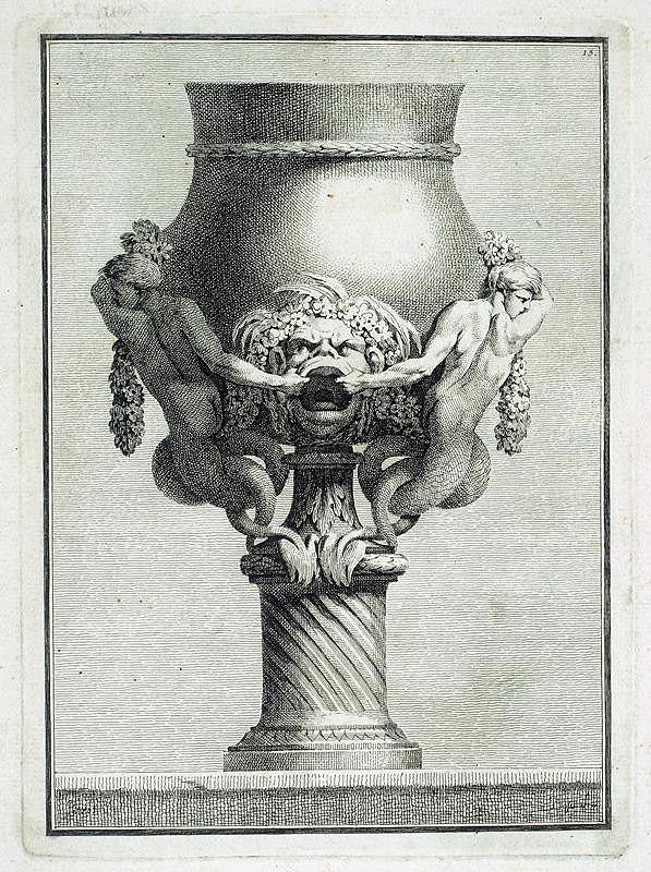 Benigno Bossi – Váza s vodními vílami