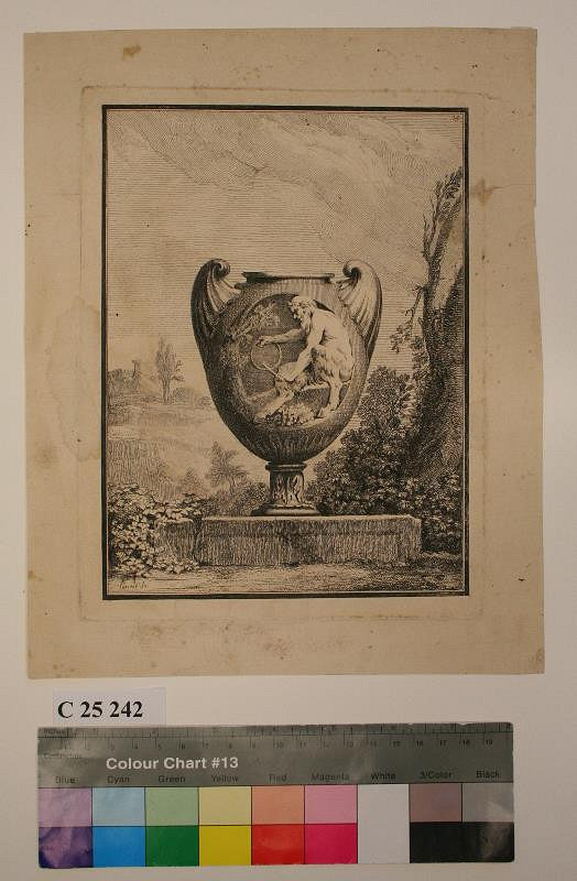 Benigno Bossi – Váza s faunem