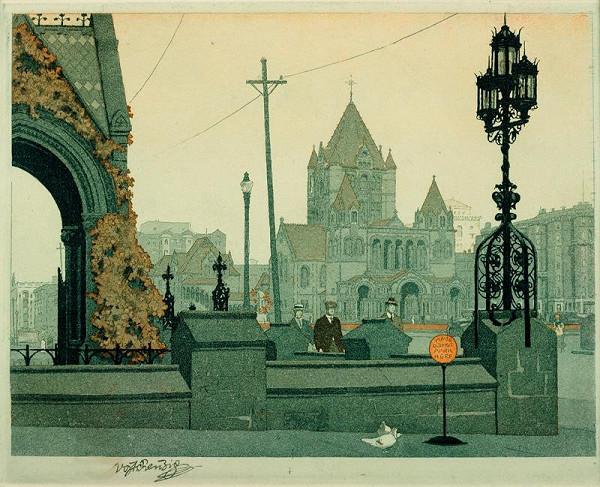 Vojtěch Preissig – Náměstí