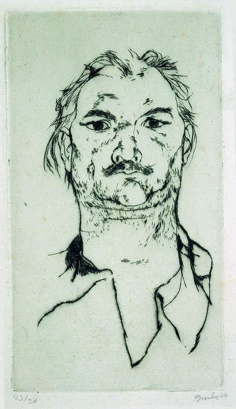 Jiří Trnka – Autoportrét