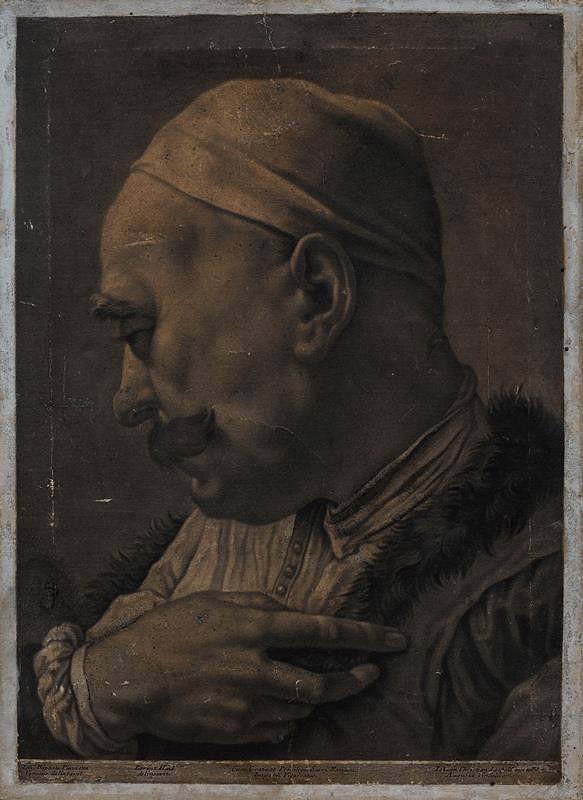 Giovanni Battista Piazzetta - Poprsí orientálce