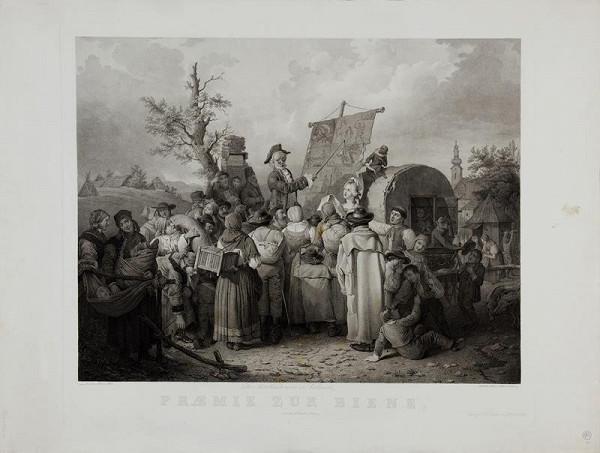 Blasius Höfel (Hoefel) - Komedianti  (Trh  v  Židlochovicích)