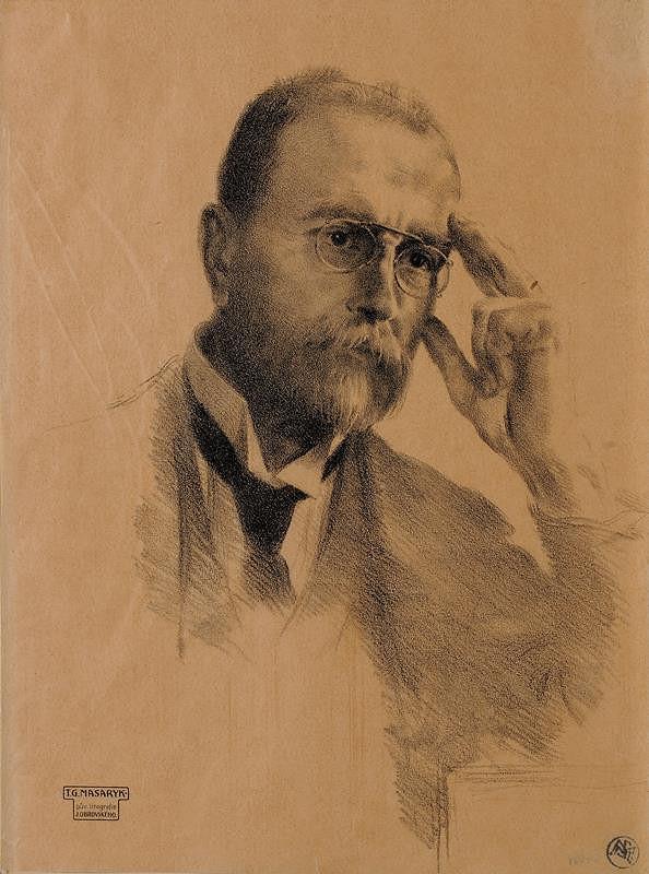 Jakub Obrovský - T. G. Masaryk
