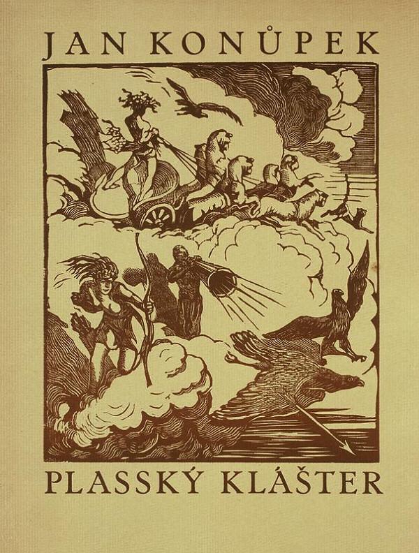 Jan Konůpek - Plasy: Nález antické sochy (Plasský klášter 1)