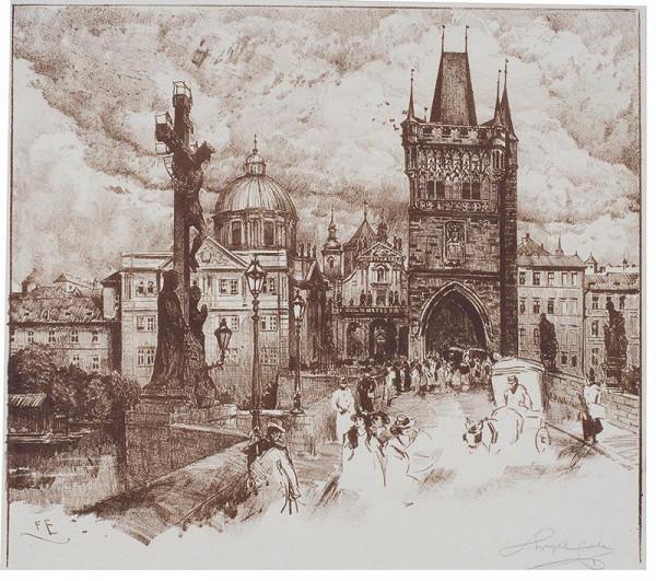 Ferdinand Engelmüller – Staroměstská mostecká věž