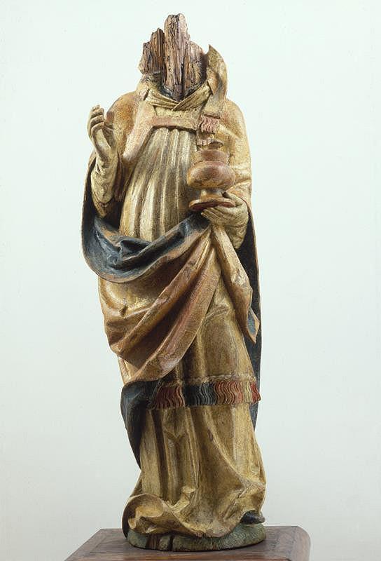 neznámý sochař moravský - Světec z Dolních Louček