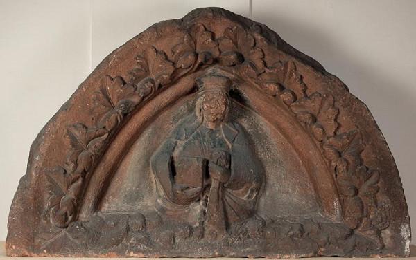 neznámý sochař moravský - Tympanon zv. z  Předklášteří