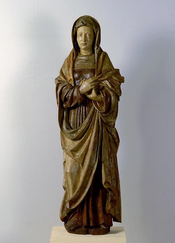 neznámý sochař středoevropský – Světice (P. Marie pod křížem?)