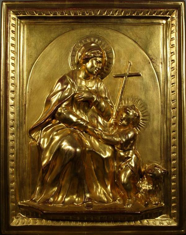 Martin Vinazer – Sv. Alžběta se sv. Janem Křtitelem