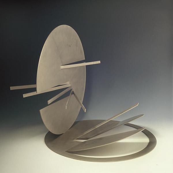 Karel Malich – Stříbrná prostorová plastika