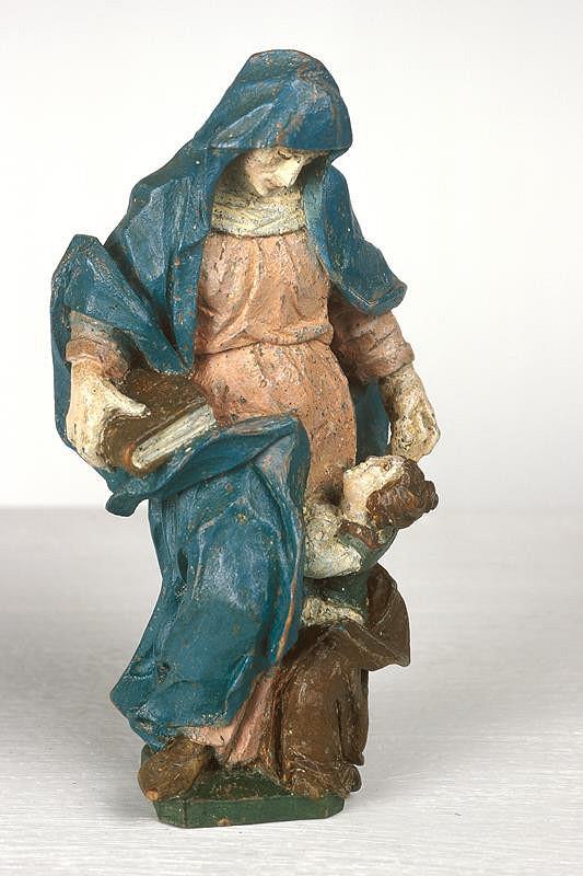 neznámý sochař středoevropský – Vyučování P. Marie
