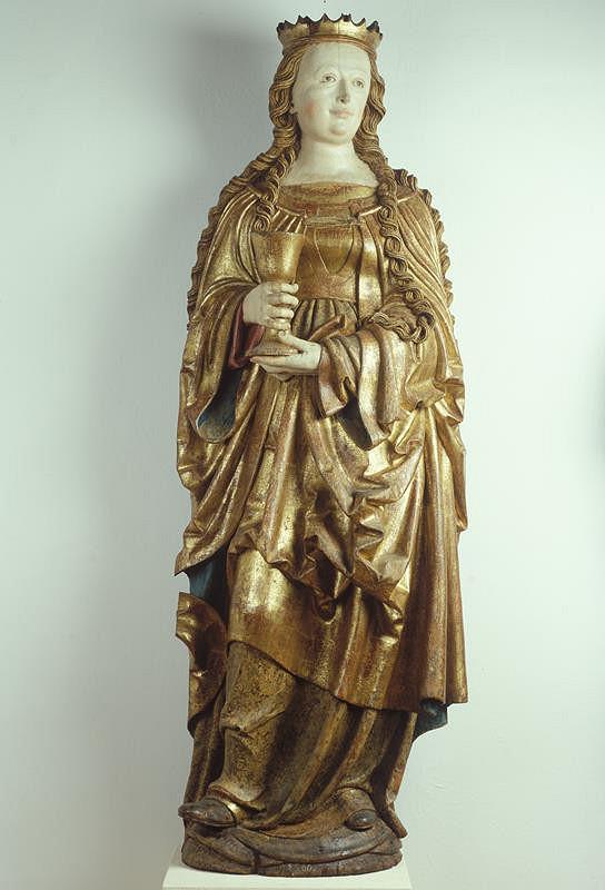 neznámý sochař tyrolský - Sv. Barbora