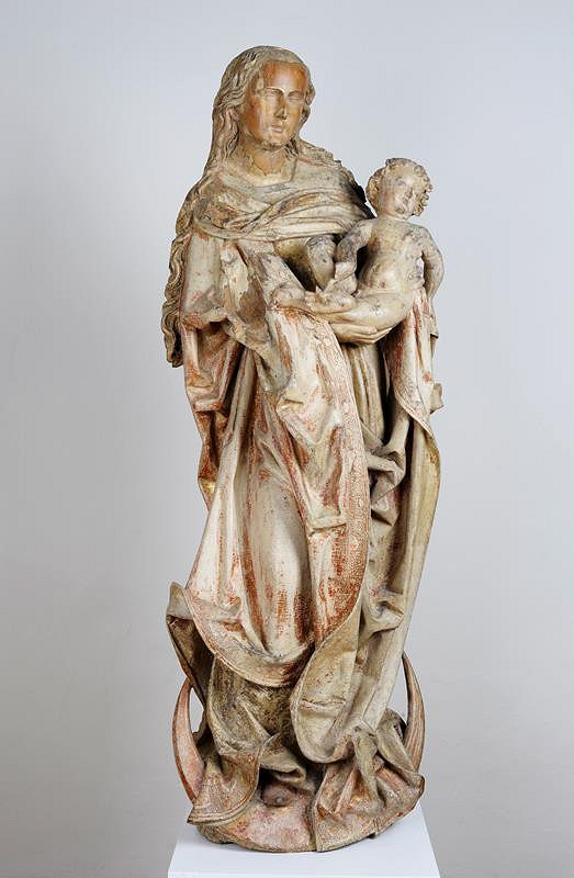 neznámý sochař moravský – Madona z Brna