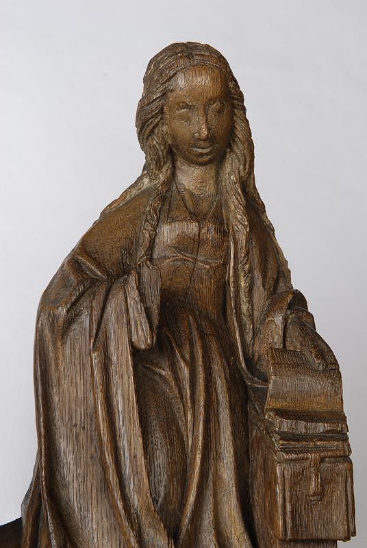 neznámý sochař – Zvěstování P. Marie