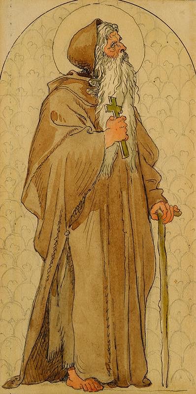 Josef Mánes – Svatý Ivan