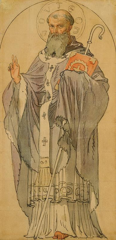 Josef Mánes – Svatý Vojtěch