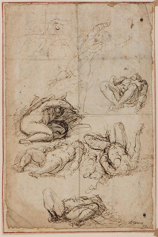 Pietro Francesco Cittadini zv. il Milanese - Figurální studie