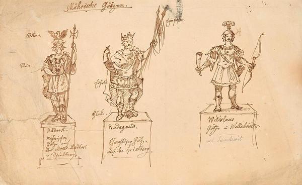 František (Franz) Richter – Moravské modly