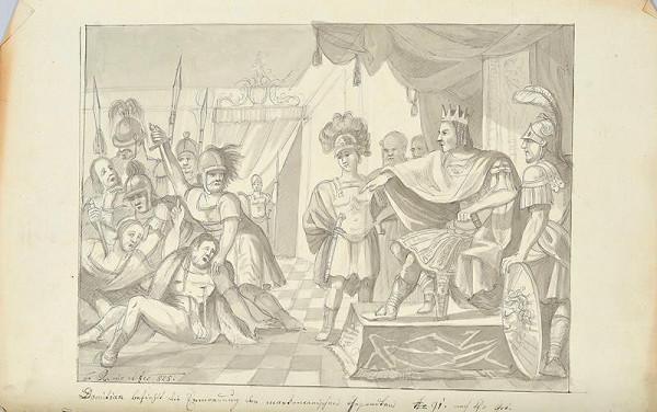 František (Franz) Richter - Domitiánův příkaz k popravě markomanských poslů