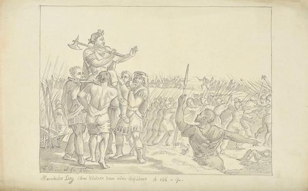 František (Franz) Richter – Marobudovo vítězství nad Slovany