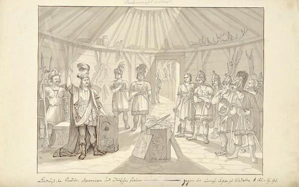 František (Franz) Richter – Spolek Markomanů a Kvádů s německými kmeny