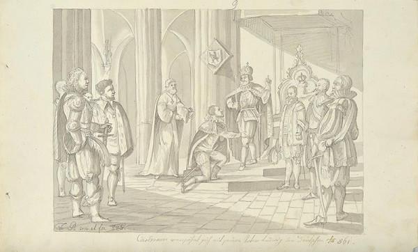 František (Franz) Richter - Karlman se usmiřuje se svým otcem Ludvíkem
