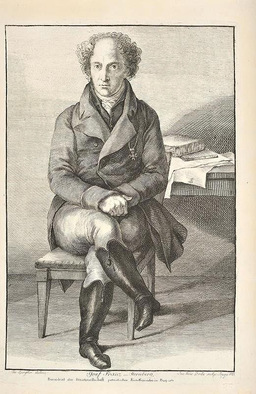 Josef), Josef Jan Alois Drda (Drda - Podobizna Františka hr. Šternberka