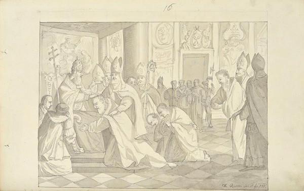 František (Franz) Richter – Cyril a Metod biskupy vysvěceni