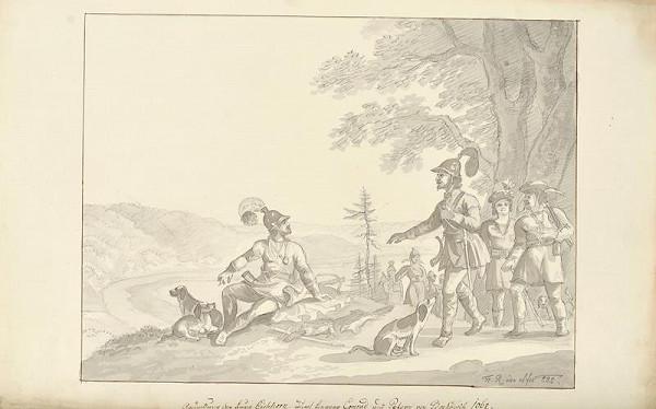 František (Franz) Richter - Založení hradu Veveří
