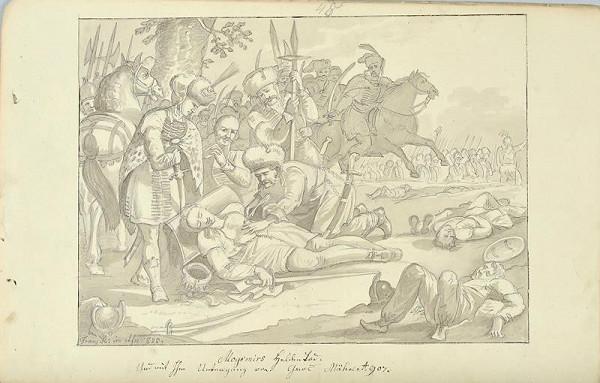 František (Franz) Richter – Smrt Mojmírova