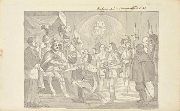 František (Franz) Richter - Morava se stala markrabstvím