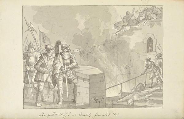 František (Franz) Richter – Smrt Mar. Kužela z Kvasic