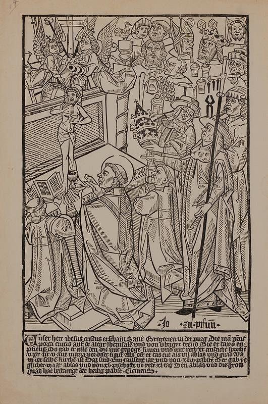 Jan z Brna – Mše sv. Řehoře