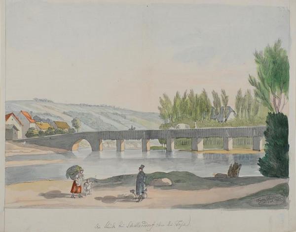 František (Franz) Richter - Most v Šaldorfu