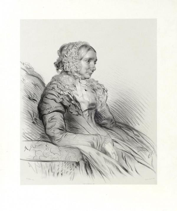 Eduard Kaiser - Podobizna Leopoldina Silva Tarouca, roz. Šternberk-Manderscheid