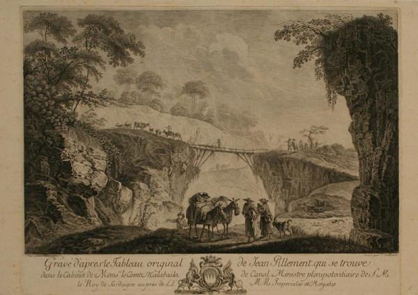 Ferdinand Landerer – Krajina s mostem