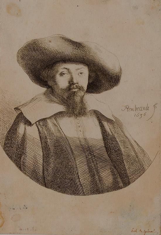 Rembrandt van Rijn – Hlava muže