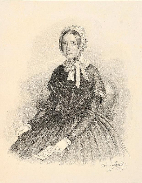F. A. Schneider – Leopoldine Gräfin Silva - Tarouca
