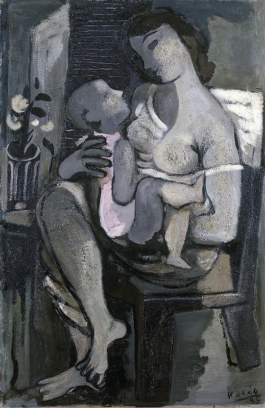 František Kaláb – Matka s děckem