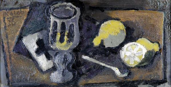 František Kaláb – Zátiší s citrony