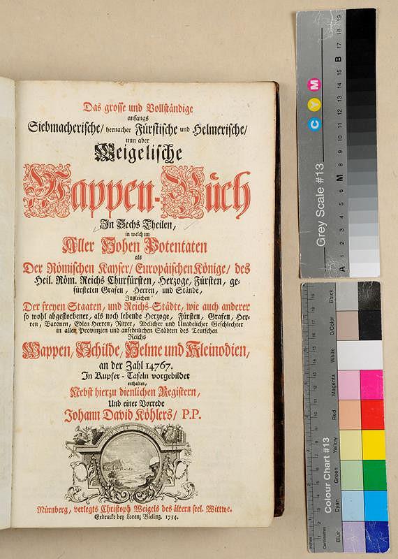 Andreas Bieling, Johann David Helmers, Paul Fürst, Johann Siebmacher, Christoph Weigel – Weigelische Wappen-Buch