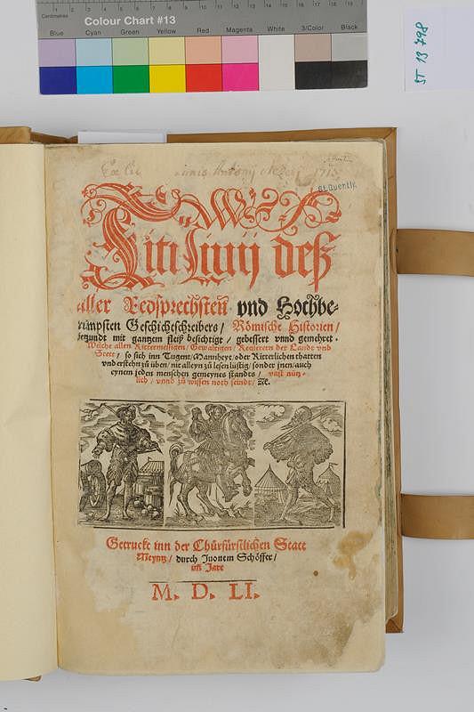 Johann Schöffer, Titus Livius - Römische Historien