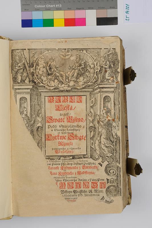 neznámý autor – Biblí czeská