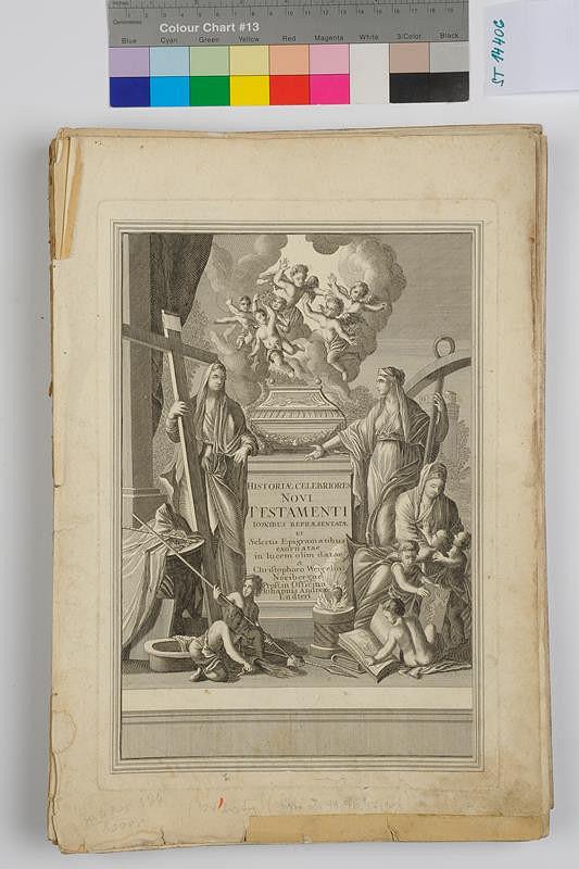 Caspar Luyken, Christoph Weigel, Johann Andreas Endter – Historiae celebriores Novi Testamenti iconibus repraesentatae et selectis epigramatibus exornatae