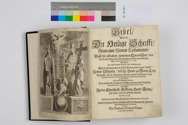 neznámý autor, Johann Andreas Endter, Balthasar Christoph Wust, Jacob Sandrart - Bibel, das ist, Dier heilige Schrifft, Alten und Neuen Testaments