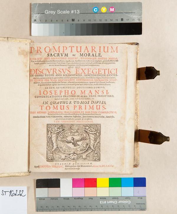 Johann Busäus, Giuseppe Mansi - Promptuarium sacrum ac morale